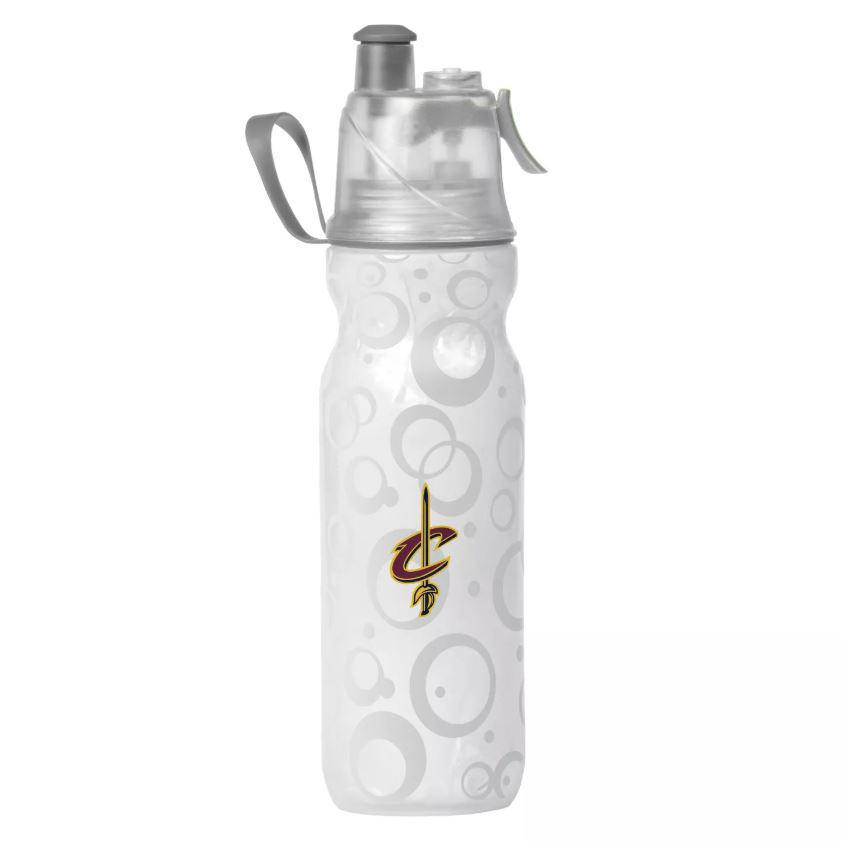 O2COOL ArcticSqueeze Insulated Mist 'N Sip NBA Cavaliers Water Bottle - 2 Pack-Daily Steals