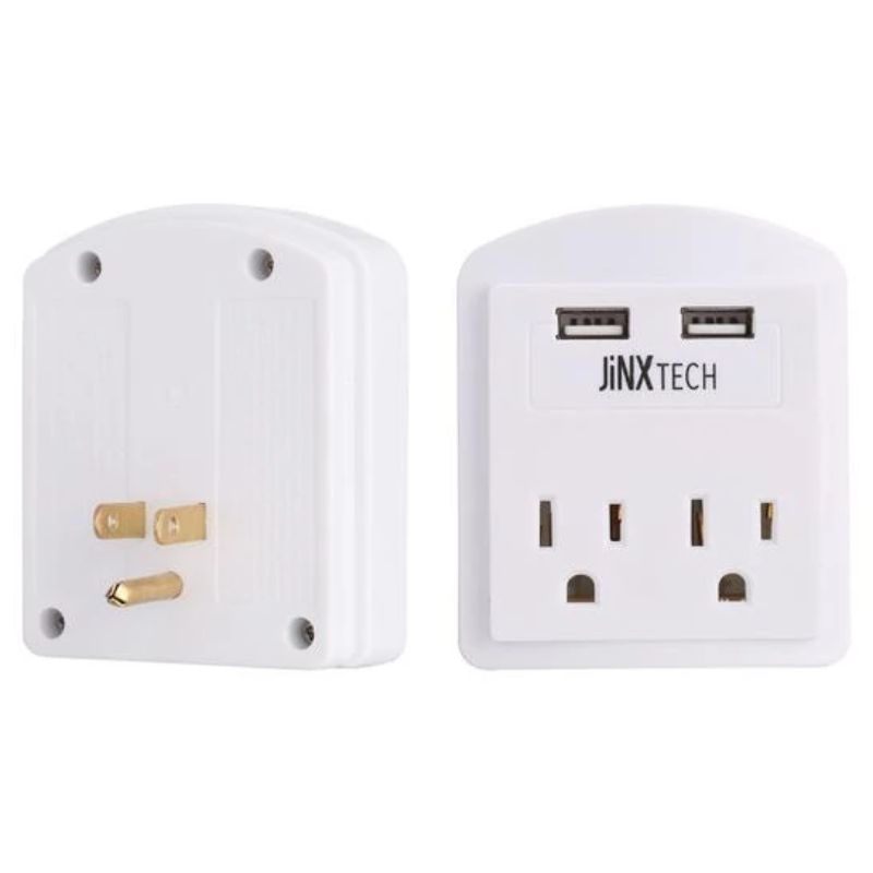 Certified 10ft Lightning Cables & Outlet Wall Tap Combo - 3 Pack-Daily Steals