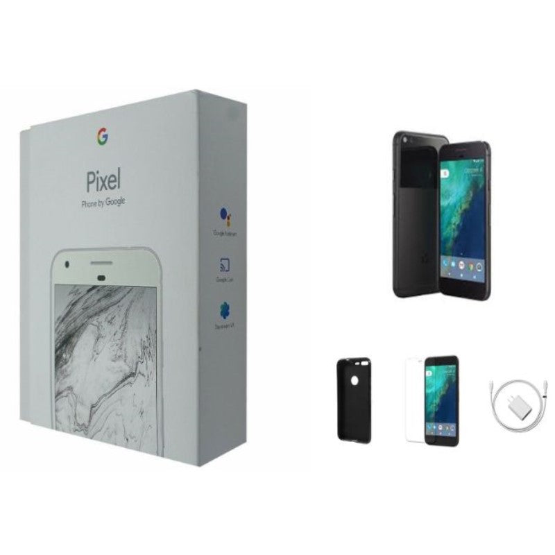 Google Pixel XL Quite Black Smartphone Bundle-32GB-Daily Steals