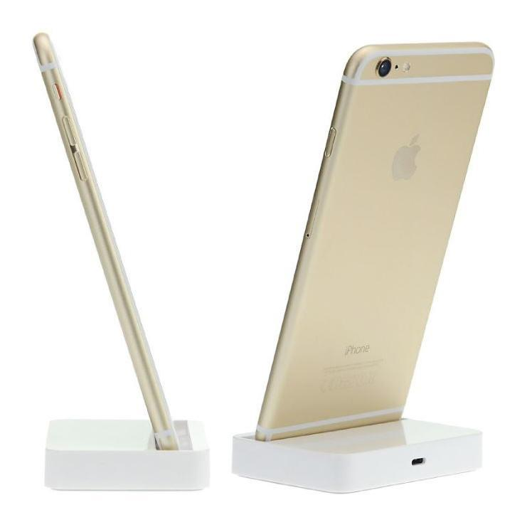 Daily Steals-iPhone Compatible Mini White Dock Charging Station - 2 Pack-Cell and Tablet Accessories-
