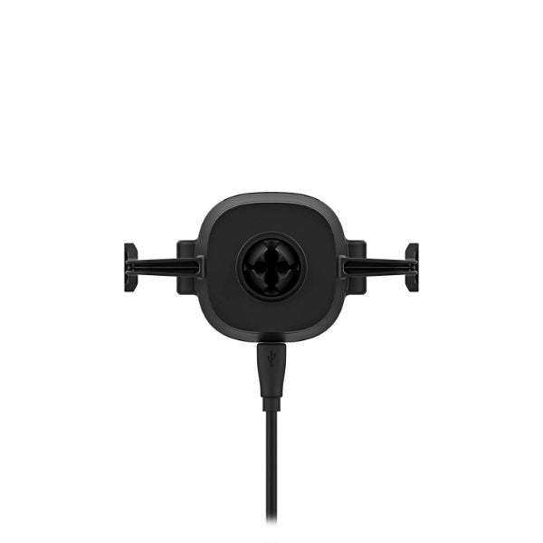 Mophie Charge Stream Qi Wireless Vent Mount for all Qi Enabled Devices - Black-Daily Steals