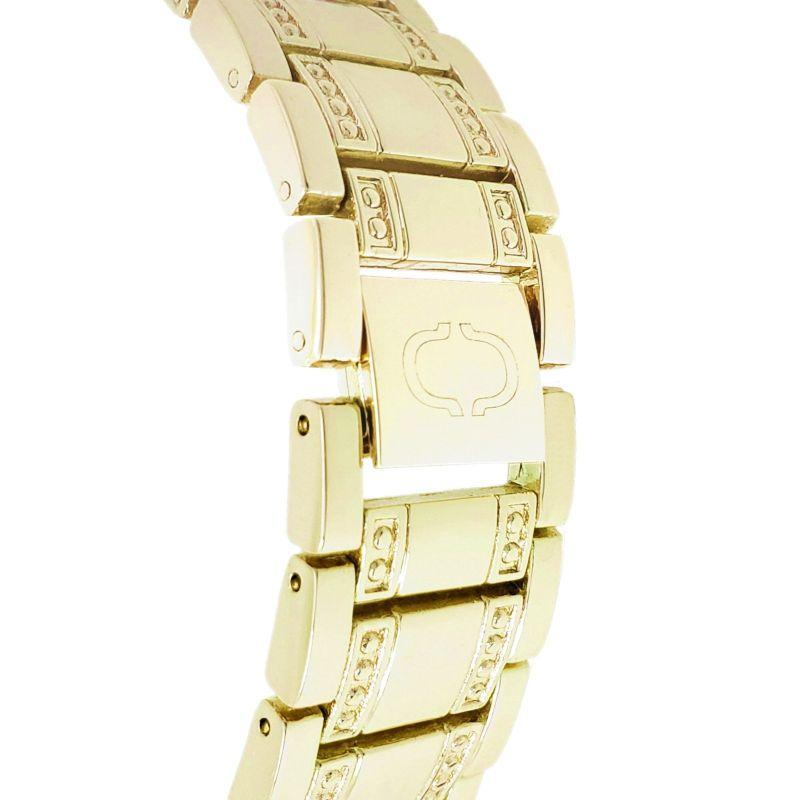 Charles Delon Women's Watch 5855 LGSW Gold, White Stainless Steel Quartz Round-