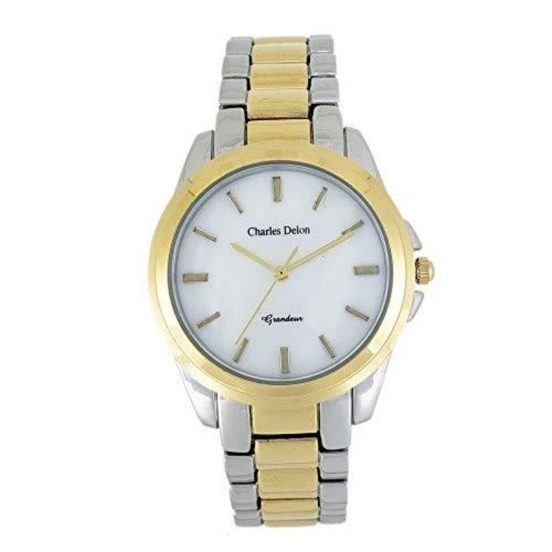 Charles Delon Women's Watches 5442 LWMX Silver/Gold Stainless Steel-