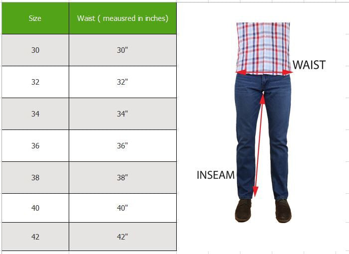 [Singles and 2-Pack] Men's Straight Leg Slim Fit Jeans - 100% Cotton-Daily Steals