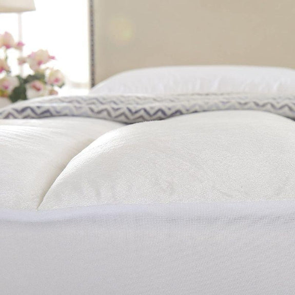 Cheer Collection Mattress Topper Pad and Mattress Protector-King-