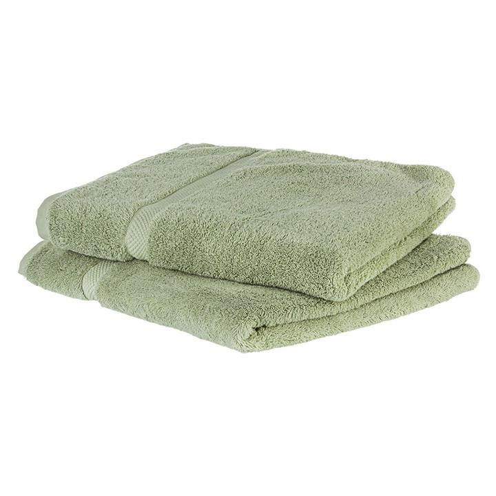 update alt-text with template Daily Steals-Super Soft Absorbent Solid Color Bath Towels - 2 Pack-Home and Office Essentials-Sage-