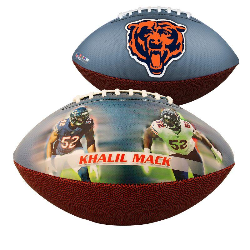 Chicago Bears - Khalil Mack - Sportsmemorabilia Fodbold-Daily Steals