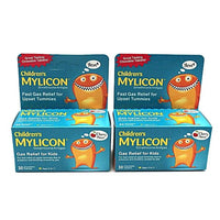 Daily Steals-Mylicon Children's Fast Gas Relief, Cherry, 30 Chewable Tablets - 2 Pack-Health and Beauty-