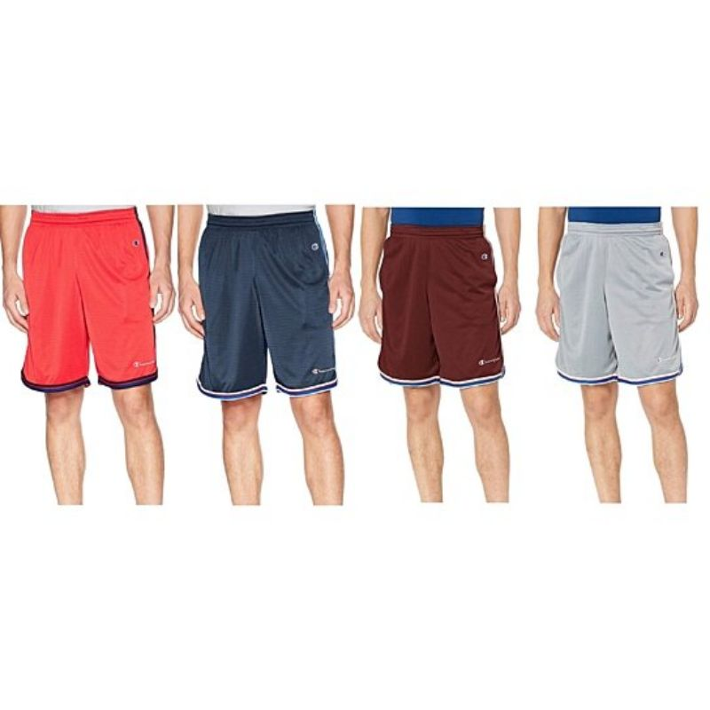 Men's Champion Athletic Performance Shorts - 5 Pack-Daily Steals