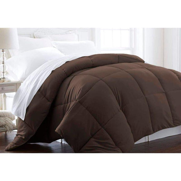 Home Collection All-Season Premium Down Alternative Comforter-Chocolate-Twin-Daily Steals