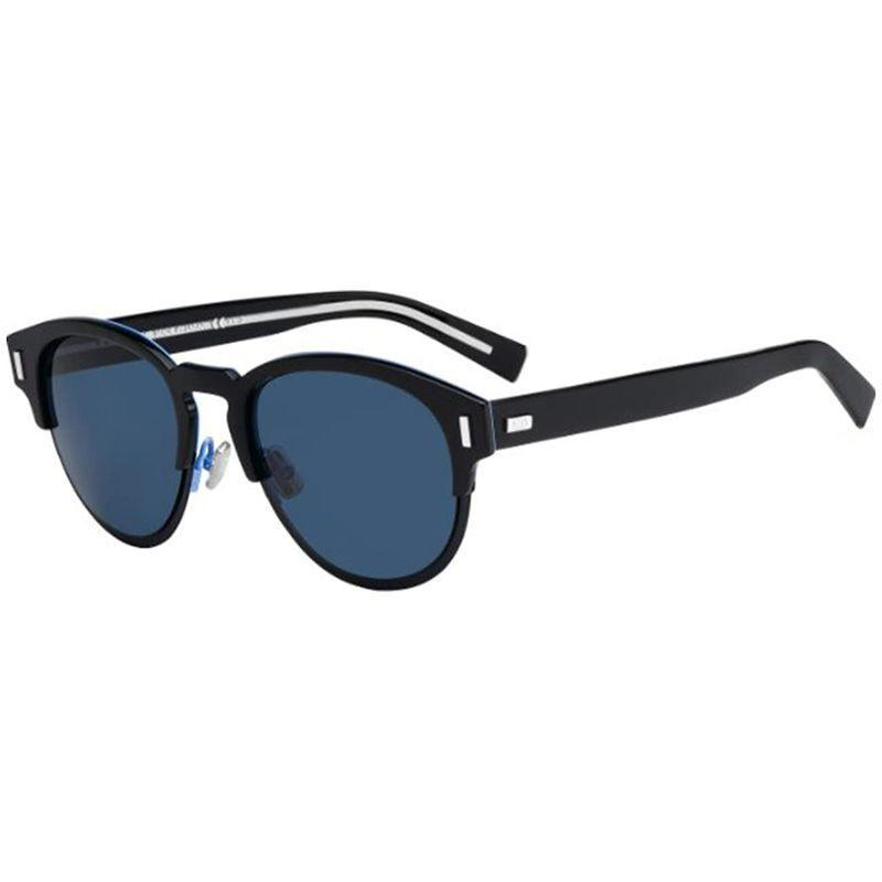 Christian Dior Men's Blacktie 0SJ-0TGP-52-21 99mm Black Blue Frame Sunglasses-