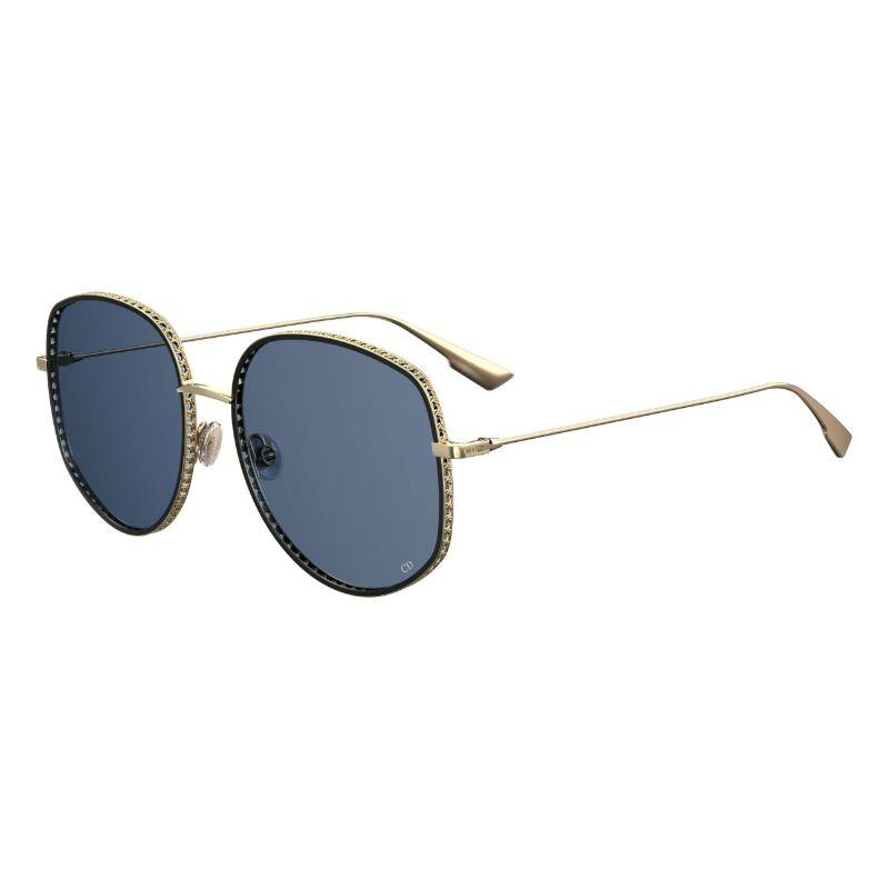 Christian Dior Women's Dior by Dior 0J5G-58-17 52mm Gold Frame Sunglasses-