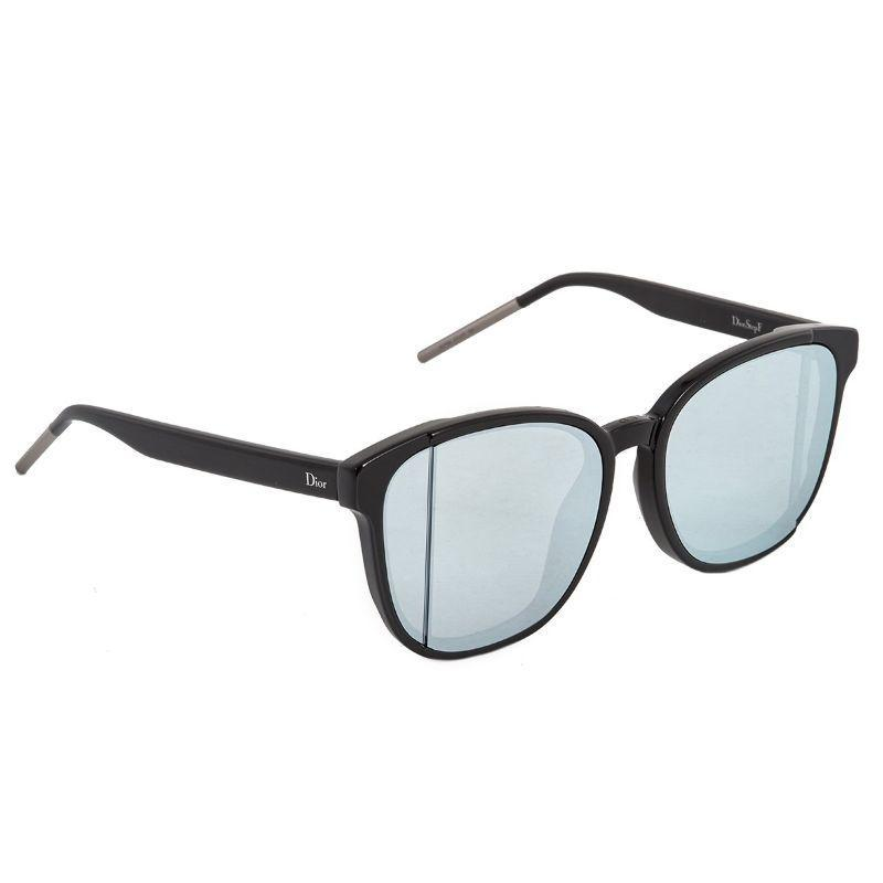Christian Dior Women's Diorstepf 0807-57-17 57/17/150 Black Frame Sunglasses-