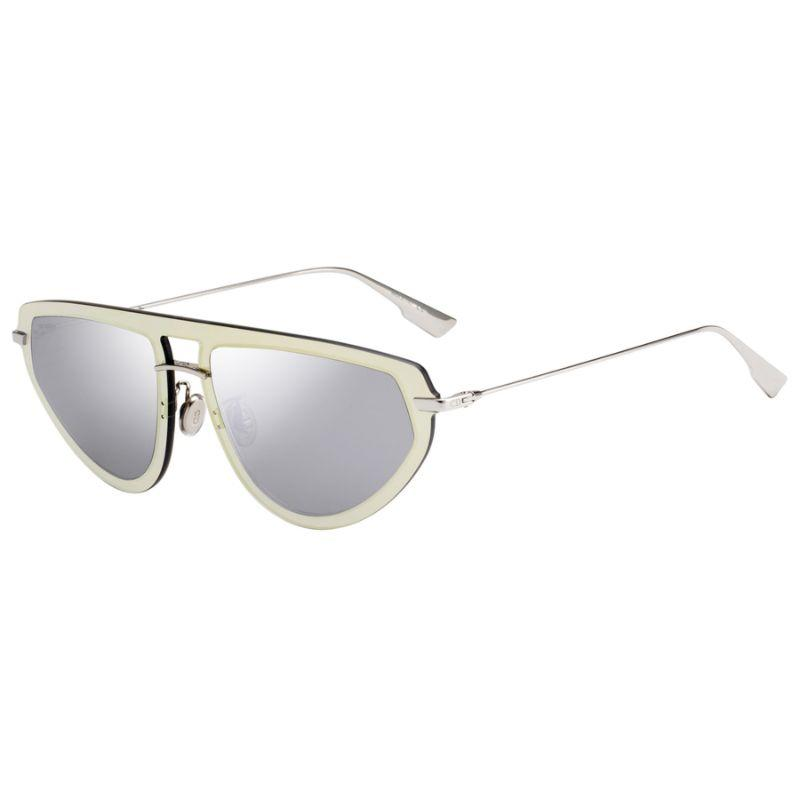 Christian Dior Women's Ultime 2S-083I-561I 56mm Gold Silver Frame Sunglasses-