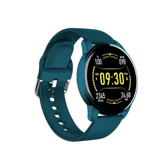 ChronoWatch Water-Resistant Touch Screen Smart Watch-Blue-
