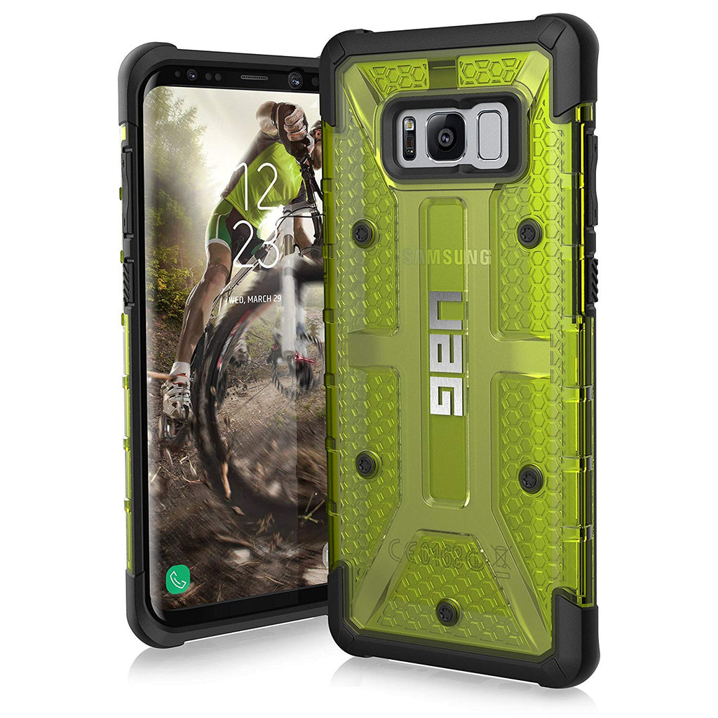 UAG Samsung Galaxy S8+ Plasma Feather-Light Rugged Military Drop Tested Phone Case-Citron-Daily Steals