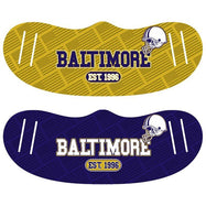 Unisex Football Reusable Fabric Face Masks - 2 Pack-Baltimore-Daily Steals