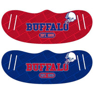 Unisex Football Reusable Fabric Face Masks - 2 Pack-Buffalo-Daily Steals