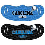 Unisex Football Reusable Fabric Face Masks - 2 Pack-Carolina-Daily Steals