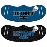 Unisex Football Reusable Fabric Face Masks - 2 Pack-Detroit-Daily Steals