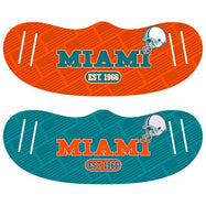 Unisex Football Reusable Fabric Face Masks - 2 Pack-Miami-Daily Steals