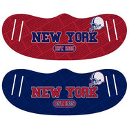 Unisex Football Reusable Fabric Face Masks - 2 Pack-New York-Daily Steals