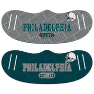 Unisex Football Reusable Fabric Face Masks - 2 Pack-Philadelphia-Daily Steals