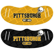 Unisex Football Reusable Fabric Face Masks - 2 Pack-Pittsburgh-Daily Steals