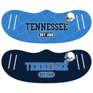 Unisex Football Reusable Fabric Face Masks - 2 Pack-Tennessee-Daily Steals