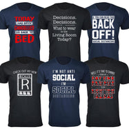Men's Hilarious Social Distancing T-Shirt-Daily Steals
