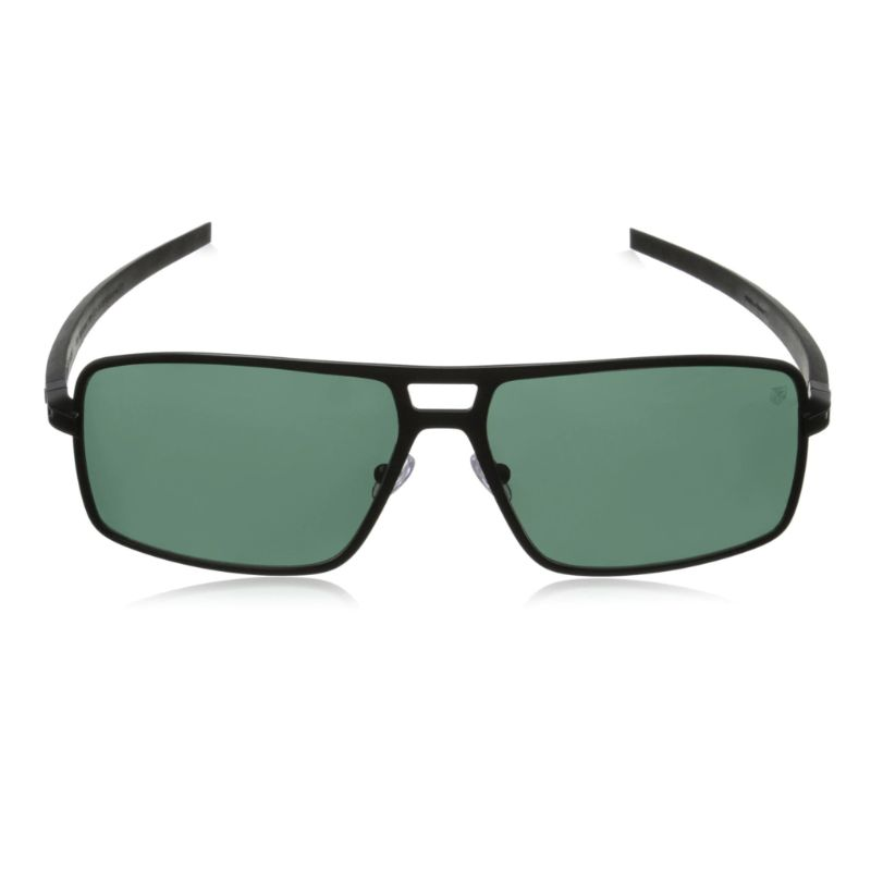 TAG Heuer 0987305 Senna Racing Noir Polarized Grey Rectangular Sunglasses-Daily Steals