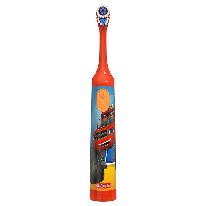 Colgate Kids Nickelodeon Blaze Extra Soft Powered Toothbrush - 2 Pack-Daily Steals