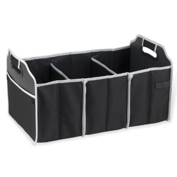 Collapsible Trunk Organizer with Cooler-1-Pack-Daily Steals