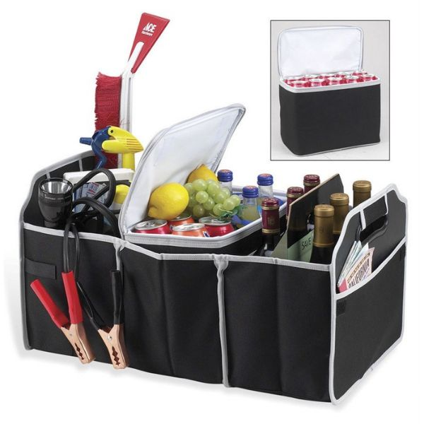 Collapsible Trunk Organizer with Cooler-Daily Steals