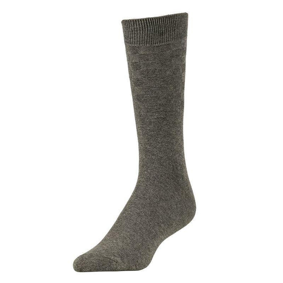 Comfortable Bamboo Dress Mens Socks - 6 Pack-Charcoal-Daily Steals