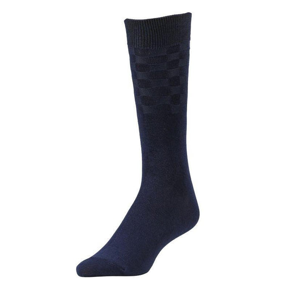 Comfortable Bamboo Dress Mens Socks - 6 Pack-Navy Blue-Daily Steals