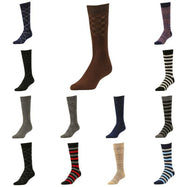 Comfortable Bamboo Dress Mens Socks - 6 Pack-Daily Steals