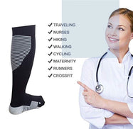 Unisex Compression Socks with Athletic Fit - 4 Pairs-Daily Steals