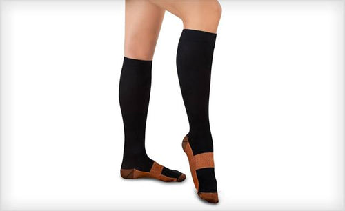 3b1a382735 update alt-text with template Daily Steals-XFit Copper-Infused Compression  Socks (