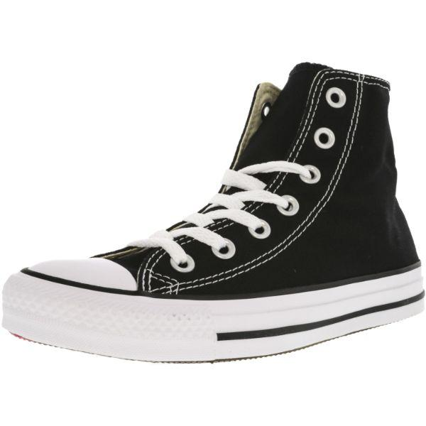 Daily Steals-Converse All Star Hi Black High-Top Canvas Sneakers - Kids Unisex Size 4.5W / 3.5M-Accessories-