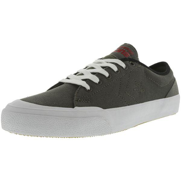 Daily Steals-Converse Cons Sumner Ox Charcoal Ankle-High Skateboarding Shoes - Adult Unisex Size 10W / 8M-Accessories-