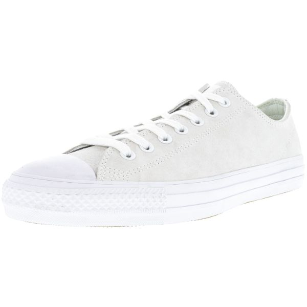 Converse All Star Pro Ox White / Teal Low Top Suede Skateboarding Shoes-11W / 9M-Daily Steals