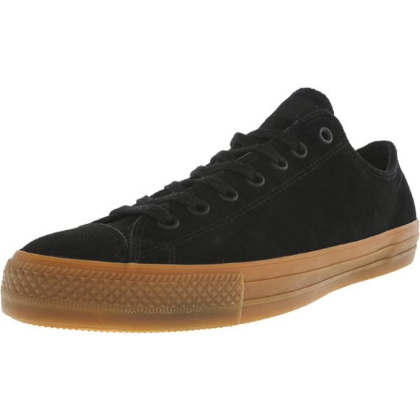 Converse Chuck Taylor All Star Pro Ox Black / Ankle-High Leather Sneakers - Adult Unisex Size 13W / 11M-Daily Steals