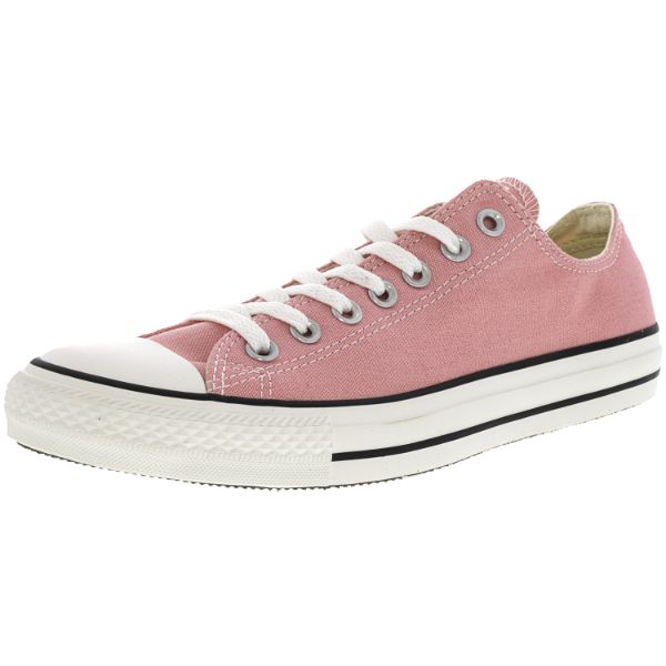 Converse Chuck Taylor All Star Ox Quartz Pink Ankle-High Sneakers - Adult Unisex Size 10W / 8M-Daily Steals