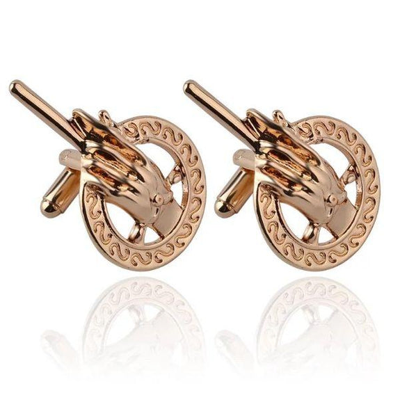 Hand of The King Cuff Links-Bronze-Daily Steals