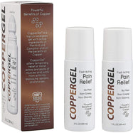 CopperGel Roll-On Pain Relief Cooling Gel - 2 Pack-Daily Steals