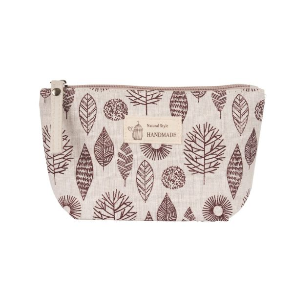 Stylish Pattern Cosmetic Pouch Bag-Autumn Leaves-Daily Steals