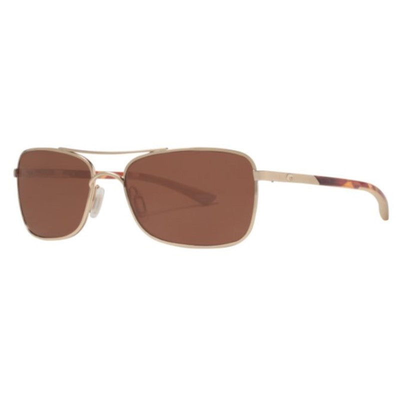 Costa Del Mar Palapa AP64 OCGLP Rose Gold/Brown Copper Polarized Sunglasses-Daily Steals