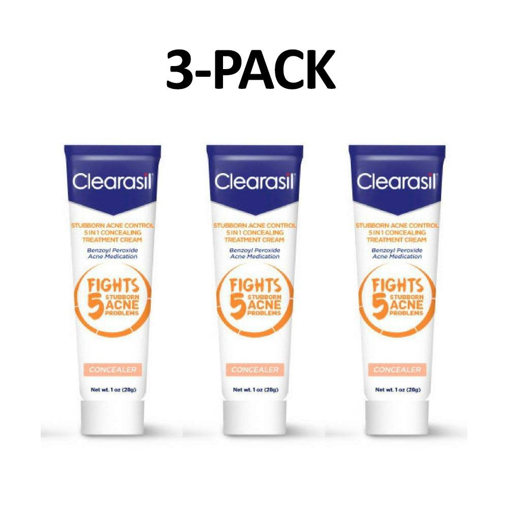 5-in-1 Clearasil Stubborn Acne Control Concealing Cream-3-Pack-Daily Steals