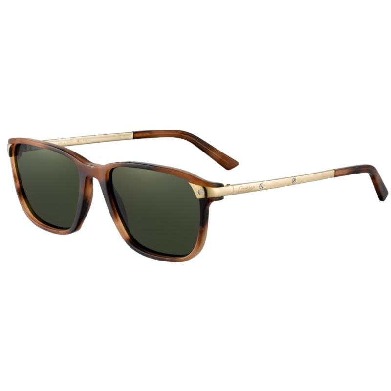 Cartier Unisex Sunglasses - CT0075S-002 56-Daily Steals